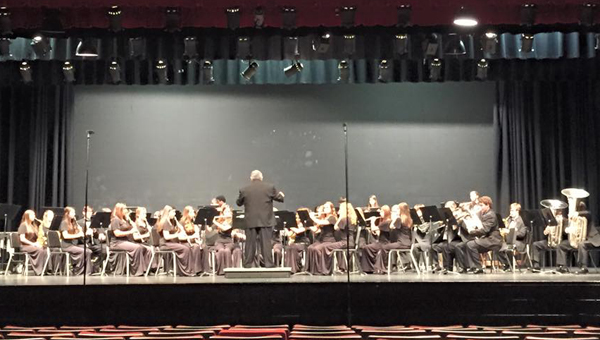 The Chelsea High School and Middle School bands scored top marks at the State Musical Performance Assessment earlier this month. (Contributed)