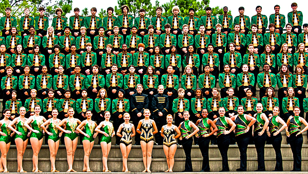The Pelham High School band will be just one of the groups performing at the showcase. (Contributed)
