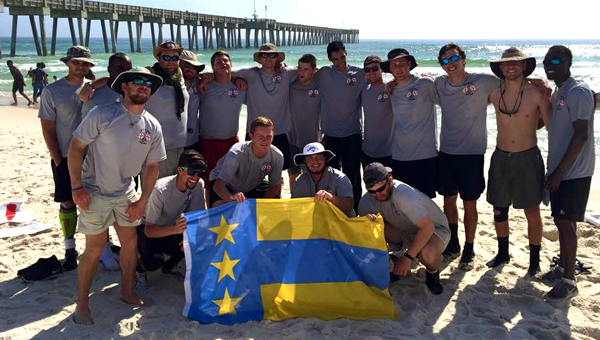 Chelsea native, Will Pouncey, spent his spring break walking 128.3 miles to raise money and awareness for the Wounded Warrior Project. He walked with 17 of his fraternity brothers from Troy University. (Contributed)