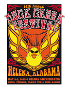 The headliners for the 2015 Buck Creek Festival in Helena have been announced. (Contributed)