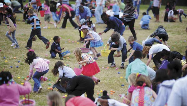 Pelham's annual citywide Easter egg hunt will take place April 4 at 9 a.m. at Pelham City Park. (File)