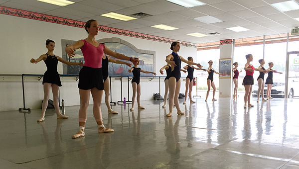 """Grebel Dance students prepare for the upcoming production of """"The Sleeping Beauty."""" (Contributed)"""