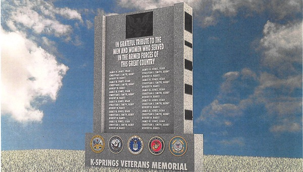 A group of veterans from the Connection in Chelsea are working to create a memorial to honor local veterans. (Contributed)
