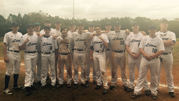 The Kingwood Christian baseball Lions improved to 16-10-2 after a four-day strecth from March 24-28 that saw them win three out of four games. (Contributed)