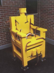 A bill currently under consideration in the Alabama Senate could bring back electric chair executions in Alabama. (Contributed)