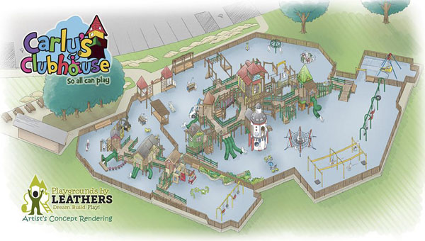 An adult hockey game at the Pelham Ice Arena on April 20 will double as a fundraiser for Carly's Clubhouse, an all-inclusive playground to be built in Pelham. (Contributed)