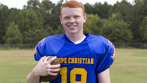 Hope Christian's Reid Allen will suite up for Mississippi College in Jackson, Miss. next year as a quarterback. Allen rushed for over 1,000 yards and threw for over 2,000 in his junior season before tearing his ACL in his senior campaign. (Contributed)