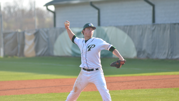 Sam Finnerty pitched a complete game against Thompson on April 10 in a runaway, 13-2 Panthers win. Finnerty was one of three pitchers in as many games who pitched complete games for Pelham over the last two days of the regular season. (File)