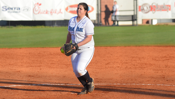 Mallory McCarty and the Spain Park Lady Jaguars' softball team are currently 25-5-2 and recently won four of five games at the Sumiton Christian Tournament. (File)