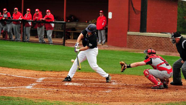 Vinny Rodriguez extended his hitting streak to 25 consecutive games on April 21 against University of West Alabama. (Contributed)
