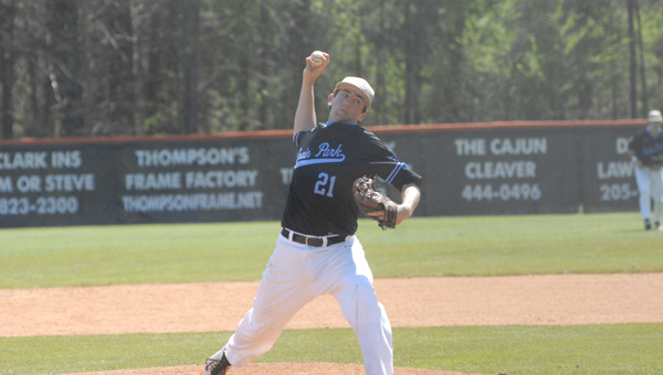 Mason Duke and the Spain Park baseball Jaguars went 4-2 in the Beef O'Brady's Classic from March 30-April 3. (Reporter Photo / Baker Ellis)