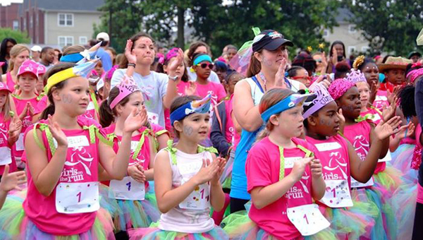 The Girls on the Run Community 5K is on Saturday, May 9 at Hoover's Veterans Park. (Contributed)