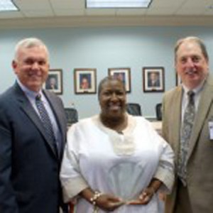 Karen Lilly, an instructional aide and paraeducator at Columbiana Middle School, was named the Shelby County School District's Educational Support Personnel of the Year. (Contributed)