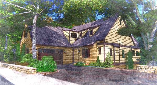 A rendering depicts the Cherry Laurel home, one of 15 floor plans offered in Mt Laurel. The Town of Mt Laurel and other areas in Shelby County are boasting healthy housing markets, compared to several years ago. (Contributed photo.)