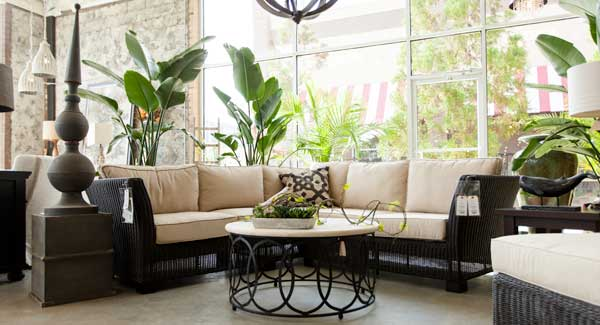 Urban Home Market offers a variety of outdoor furnishings, including sofas, dining tables, chairs and decor. (Photo by Garrett Coyte.)