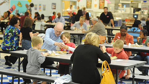 The Alabaster City School System will again offer its summer feeding program beginning in late May. (File)