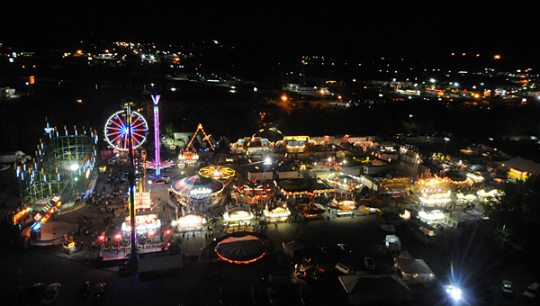 The Oak Mountain Spring State Fair has returned to the Oak Mountain Amphitheater, and will run through May 3. (Contributed)