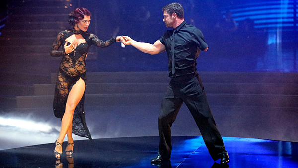 Noah Galloway and his dancing partner, Sharna Burgess, wowed the judges during the April 6 episode of Dancing with the Stars. (Contributed)