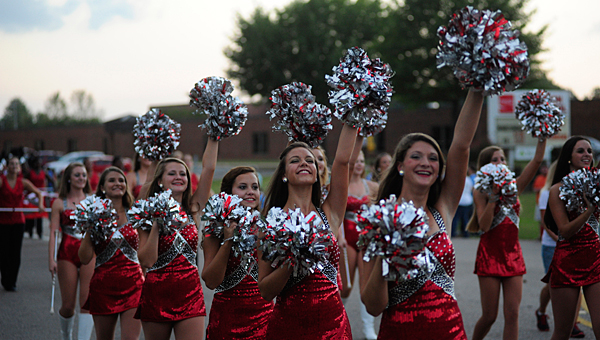 The Thompson High School majorettes and dance team have had a successful semester in several competitions. (File)