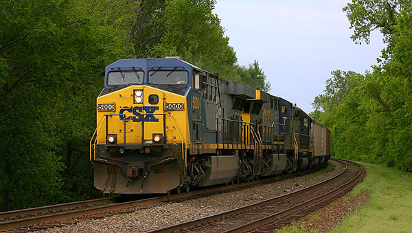 Helena Mayor Mark Hall and Police Chief Doug Jones penned a letter to CSX Transportation discussing the ongoing issue of trains blocking crossings in the Helena city limits. (File)