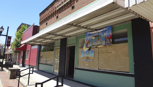 Jim and Tammey Elliott are planning to open a liquid nitrogen ice cream store in downtown Columbiana in early June. (Reporter Photo/Emily Sparacino)