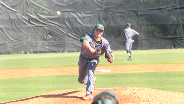 Sam Finnerty helped lead the Pelham Panthers past Spanish Fort on May 8-9 to earn a spot back in the 6A state championship series. Pelham will face Cullman for the 6A state title on May 15. (File)