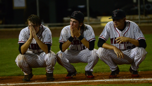 Thompson fell just short of the 7A state title, losing in the championship series to Smiths Station on May 16. (Reporter Photo / Baker Ellis)