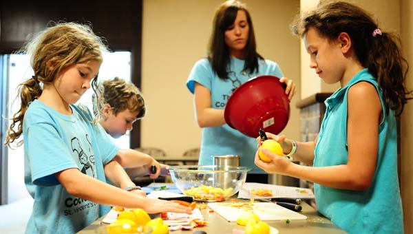 St. Vincent's One Nineteen's Thyme to Cook for Kids summer camp program teaches kids how to cook delicious, healthy meals in a fun atmosphere. (File)