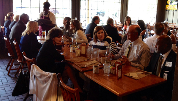 Shelby County School counselors honred state and local officials with an appreciation breakfast on Monday, May 18 at the Pelham Cracker Barrel. (Contributed)