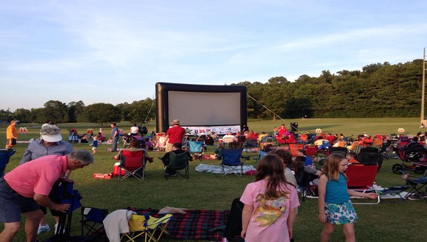 Families can enjoy movies every Friday this summer at Veterans Park.