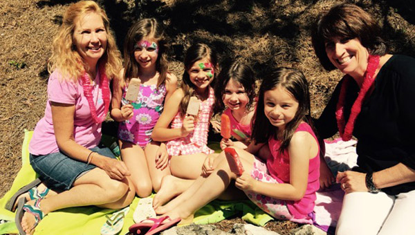 Hilltop Montessori School celebrated the end of the school year and exceeding the Annual Fund goal with a beach party on May 22. (Contributed)