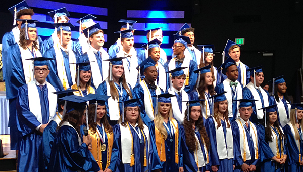 Thirty-three seniors graduated from Kingwood Christian School on May 21. (For the Reporter/Jessa Pease)