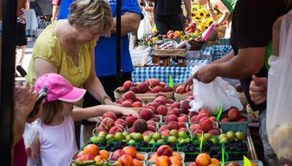 The Mt Laurel farmers market is returning to Manning Place starting Saturday, June 6 at 8 a.m. (Contributed)