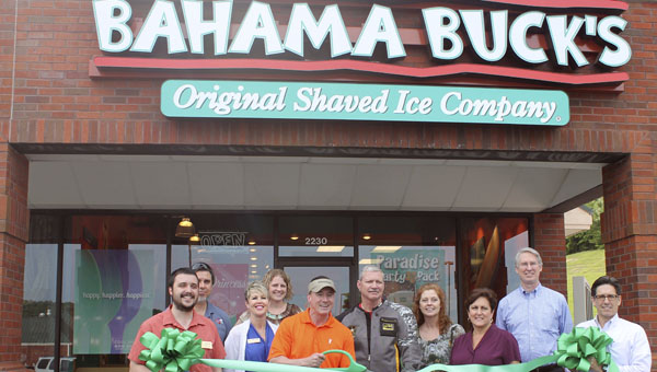 Bahama Buck's recently opened in Pelham and offers shaved ice treats. (Contributed)