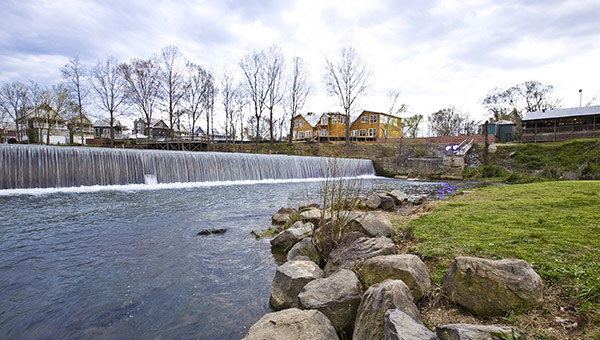 The latest water samples taken from Buck Creek show no sign of E. Coli bacteria. (File)