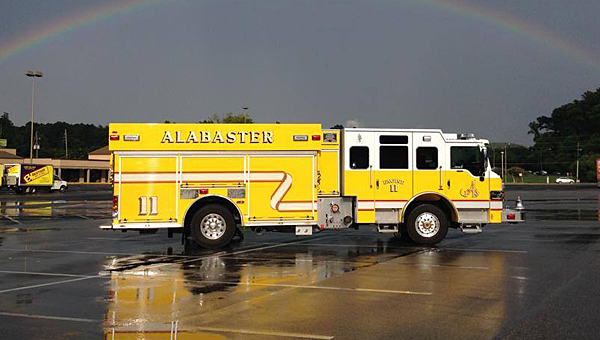 The Alabaster Fire Department will be able to more efficiently respond to calls thanks to a new software system, according to the city's fire chief. (Contributed)