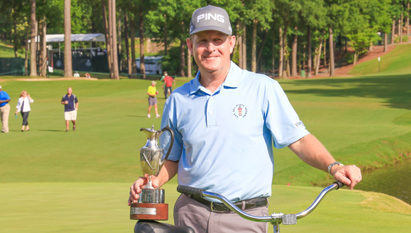 Jeff Maggert won the Regions Tradition on May 17 in a playoff against Kevin Sutherland. (Contributed / Dawn Harrison)