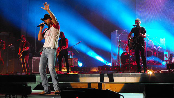 Tim McGraw will perform at Pelham's Oak Mountain Amphitheatre on Aug. 14. (Contributed)