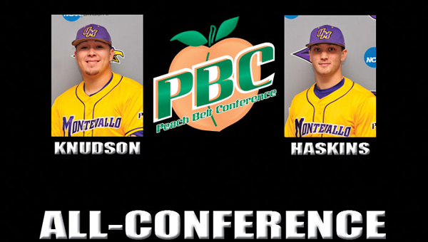 Steven Knudson and Matthew Haskins were both named All-Peach Belt Conference selections on May 8. Knudson was selected to the first team while Haskins was selected to the second team. (Contributed)