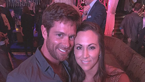 """Alabaster resident Noah Galloway, left, proposed to his girlfriend, Jamie Boyd, on-air during """"Dancing with the Stars"""" on May 11. (Contributed)"""
