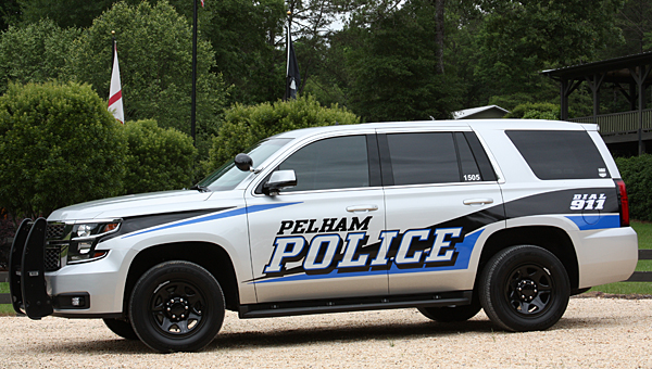 The Pelham Police Department recently received three new Chevrolet Tahoe vehicles with new graphics packages. (Contributed)