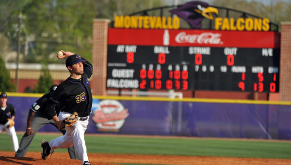 Tyler Davis, a University of Montevallo graduate, was recently called up from the Winston-Salem Dash to the Birmingham Barons, the Double A affiliate of the Chicago White Sox. (Contributed)