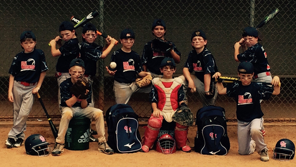 The 9U Oak Mountain Red All-Star team has had a very successful season. The players are as follows. Back row, left to right: Anderson O'Neal, Cooper Higgins, Cash Martin, Caleb Keller, Jacob Clements, Louis Hoff, Graham Race. Front row, left to right: Cace Reynolds, Drew Mathe, Brooks Travis.