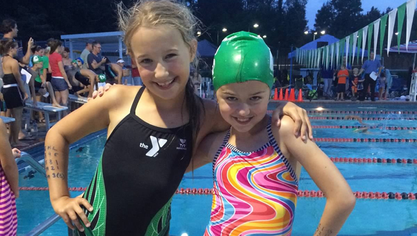 The Greystone YMCA swim team, the Stingrays, is back in action and in full swing this summer. (Contributed)