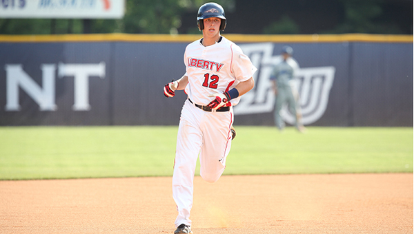 Spain Park alum Alex Close recently graduated from Liberty University and will wait to hear his name called in the MLB draft for the second consecutive year. (Contrbuted)