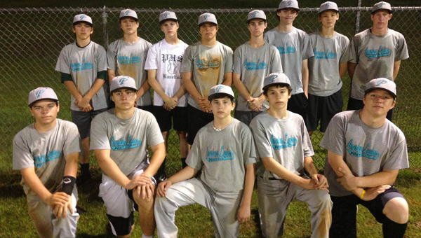 American Legion Post 555's first baseball team is preparing for its upcoming division tournament at Pelham High School July 9-12. (Contributed)