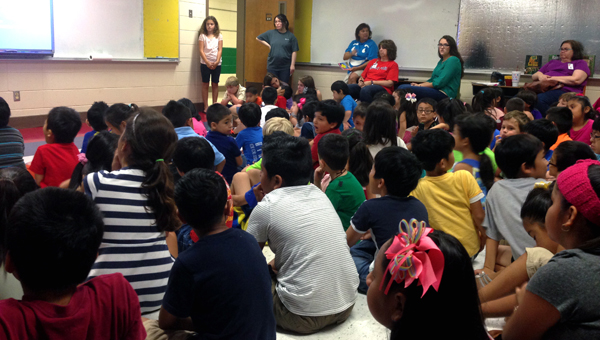 IES ESL Summer Camp wrapped up on June 26 as classes presented their final projects to teachers and peers. (Reporter Photo / Molly Davidson)