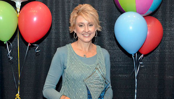 Helena Intermediate School Media Specialist and School Technology Coordinator Tami Genry was given the Chiquita Marbury Technology Innovation Award on June 9. (Contributed)