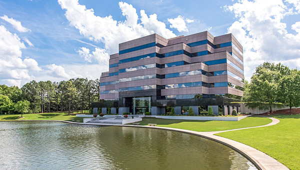 The Meadow Brook North office complex, located off of U.S. 280, will be available for auction from June 22 through June 24, according to Auction.com. (Contributed / Auction.com)