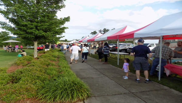 The Ross Bridge Farmers Market is just one of the many events going on around Hoover this month.